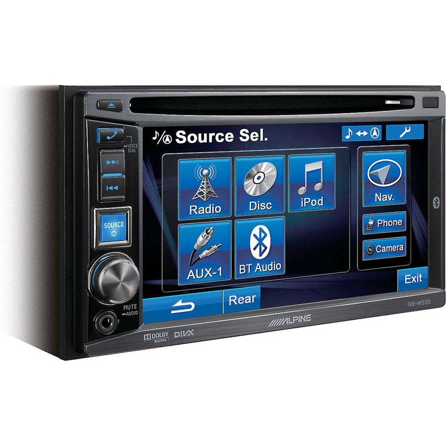 DVD ALPINE IVE-W530 USB BLUETOOTH IPOD