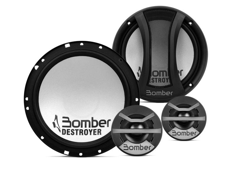 Kit 2 Vias Bomber 6 pol