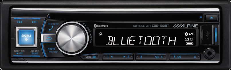 CD PLAYER ALPINE CDE-133BT