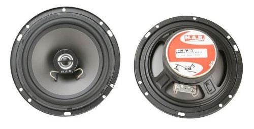Par Alto Falante Coaxial Nar Audio 600-cx-1