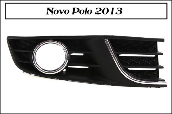 Kit Farol De Milha Neblina - Polo 2012 2013 2014 Com Botão Função Auto