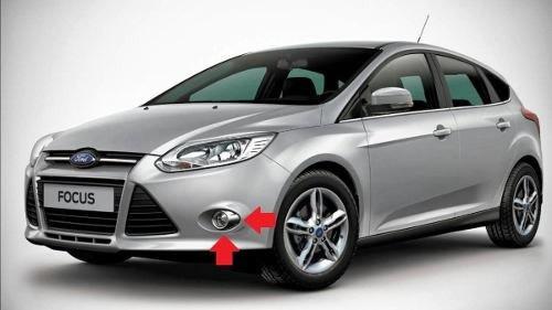 Kit Farol Milha Neblina Novo Ford Focus