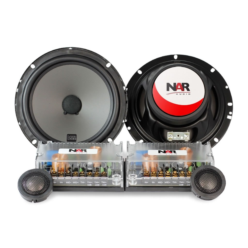 Kit 2 Vias Nar Audio 650-cs-2