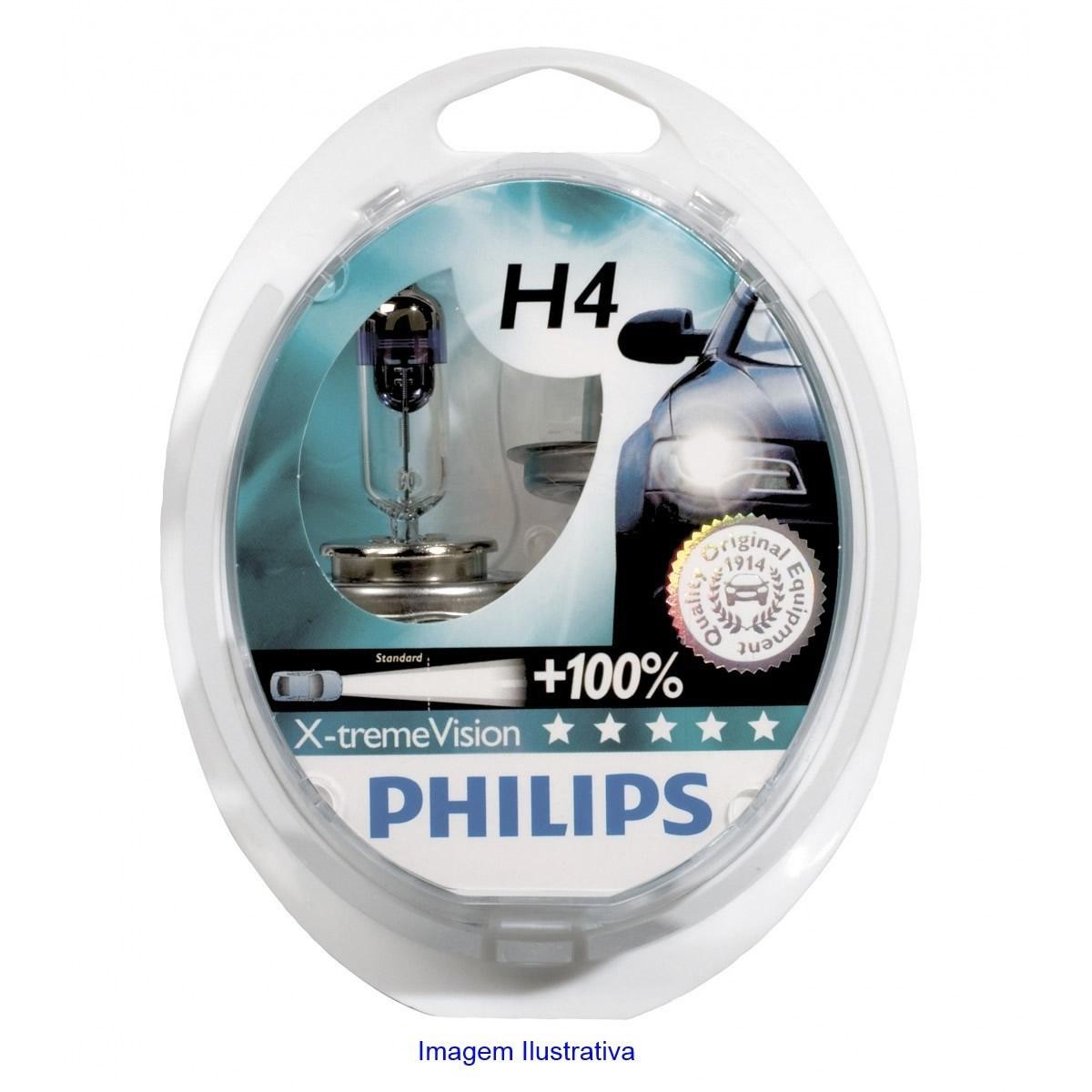 Kit Lampada Philips Xtreme Vision H4