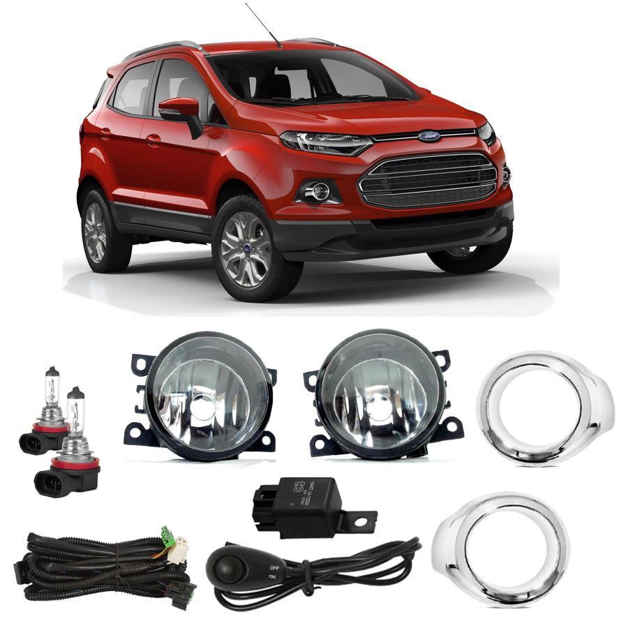 Kit Farol Milha Neblina New Ford EcoSport