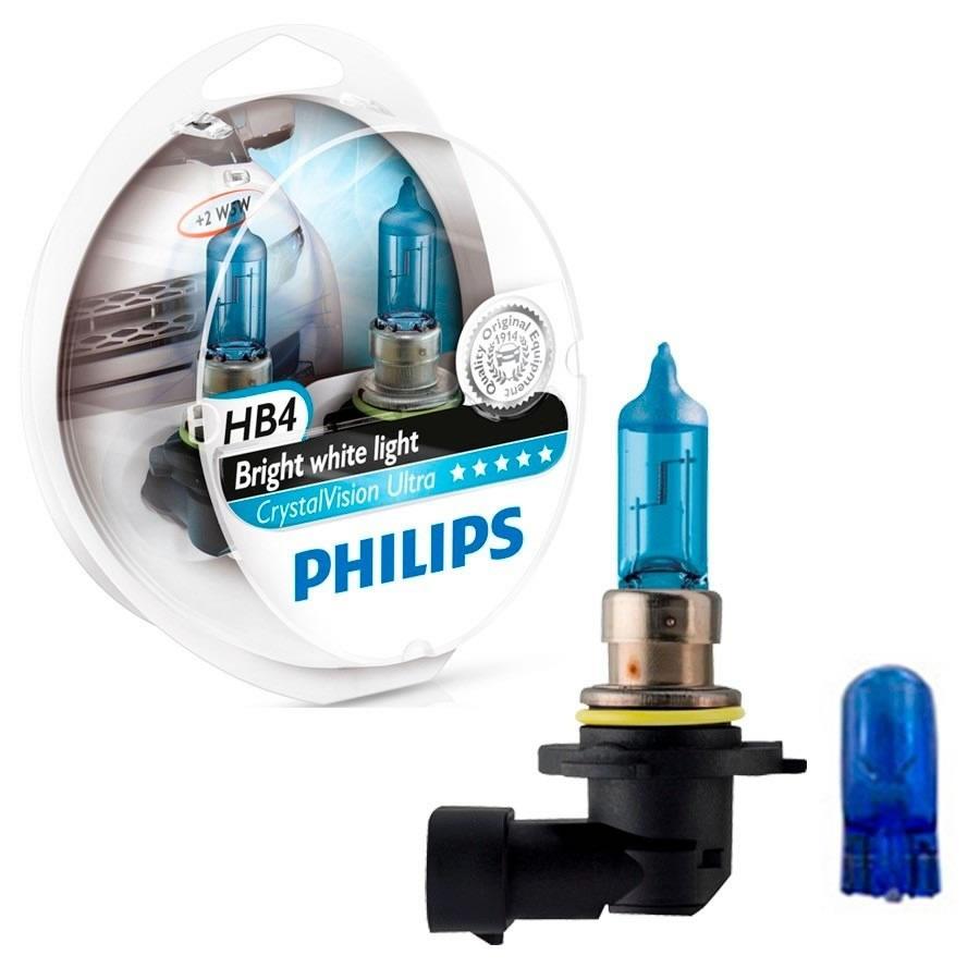 Par de Lâmpadas Philips Crystal Vision Ultra