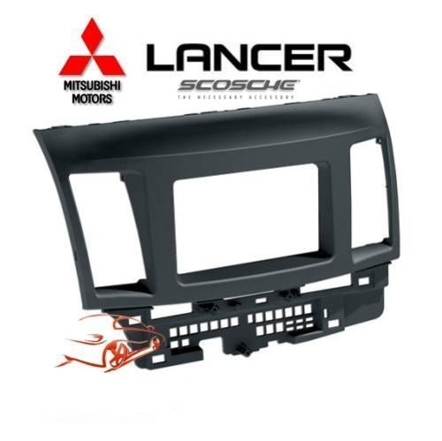 Moldura De Painel Dvd 2 Din para Mitsubishi Lancer
