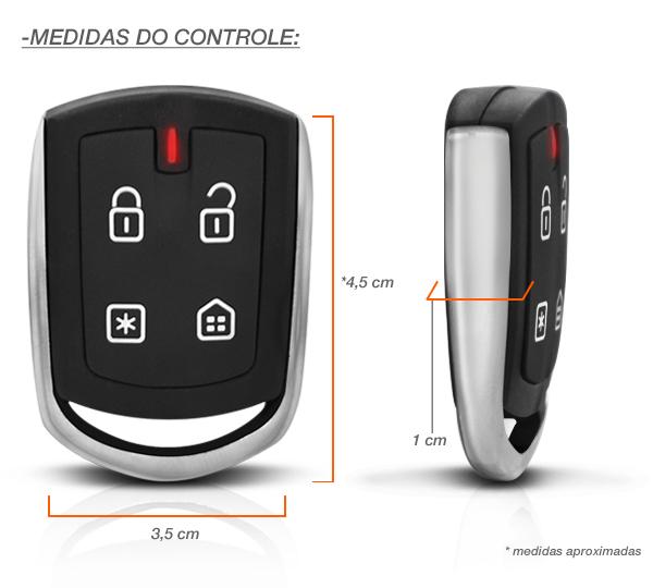 Alarme Positron Px 300 Cyber Novo 2013 Presença Desliga Som.
